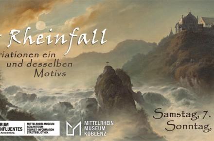 Der Rheinfall – Variationen ein und desselben Motivs