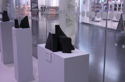 Jacueline Diffring Ausstellung im Foyer des Mittelrhein-Museums