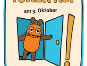 """""""Türöffner-Tag"""" der """"Sendung mit der Maus""""  im Mittelrhein-Museum am 3. Oktober 2016"""