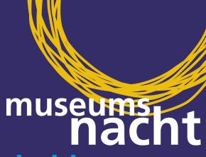 Museumsnacht am 2. September 2017 von 19 bis 01 Uhr