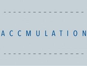 """Ausstellung """"Accumulation"""""""