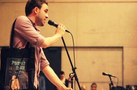 Poetry-Slam Workshop mit Philipp Herold