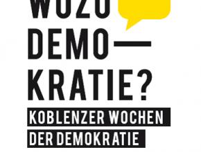 (Deutsch) Koblenzer Wochen der Demokratie