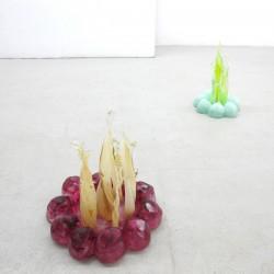 Alexander Walbröhl aus der Serie Feuerklone Choose a Flavor 2014 Glas