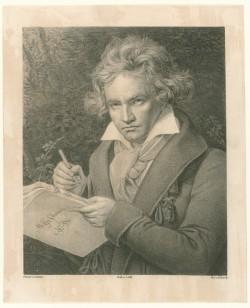 Dürck, Friedrich: Beethoven - nach Stieler