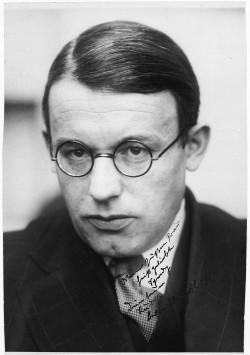 Rudolf Schlichter um 1922 Foto von © Deutsches Literaturarchiv Marbach