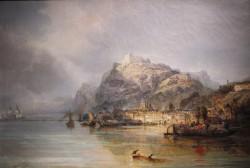 James Webb_Ansicht von Ehrenbreitstein_1880_Öl auf Leinwand_M1990_1