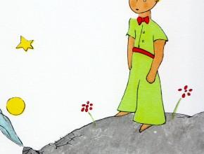 (Deutsch) Der Kleine Prinz( Le Petit Prince)-Man sieht nur mit dem Herzen gut!