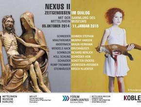 Nexus II – Zeitgenossen im Dialog mit der Sammlung des Mittelrhein-Museums (ab 5.Oktober 2014)