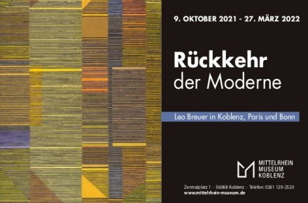 (Deutsch) Rückkehr der Moderne. Leo Breuer in Koblenz, Paris und Bonn