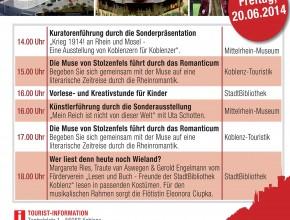 Ein Jahr Forum Confluentes- Im Herzen der Stadt am 20.6.2014
