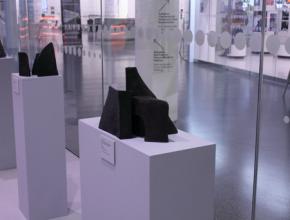 Jacqueline Diffring Ausstellung im Foyer des Mittelrhein-Museums