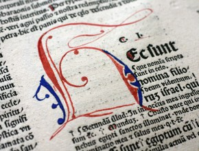 Rahmenprogramm zur Kabinettausstellung: Gottes Wort in der Sprache des Volkes. Luthers Bibel und andere Bibelübersetzungen in Drucken des 15. und 16. Jahrhunderts