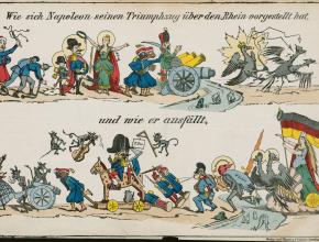 (Deutsch) Die spanische Bombe. Politische Karikaturen zum Deutsch-Französischen Krieg 1870/71