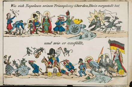 (Deutsch) Die spanische Bombe. Karikaturen zum Deutsch-Französischen Krieg 1870/71